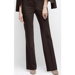 Ann Taylor Brown Wideleg Trousers